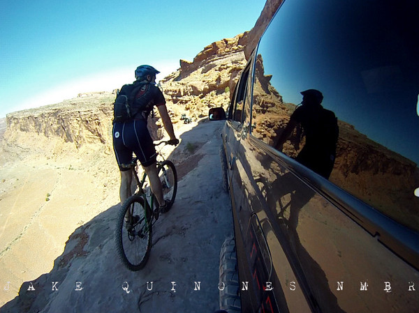 Passing Lane - Cliff Hanger Trail (View from the GoPro HD) - Moab, UT