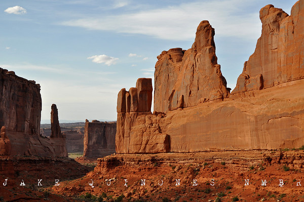 Courthouse Towers - Arches National Park, UT