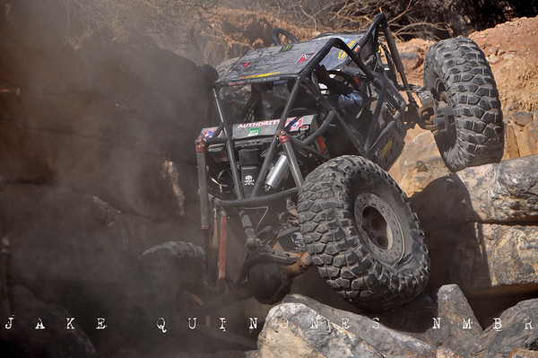 Moon Buggy Climbs Nemesis II - Patzcuarro's Revenge Trail, Robledo Mountains, NM